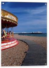 Brighton beach, Acrylic Print