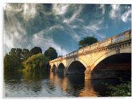 Bridge over the Serpentine , Acrylic Print