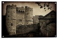 Carisbrooke Castle., Acrylic Print
