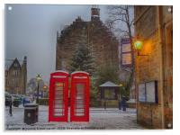 Glasgow University Campus, Acrylic Print