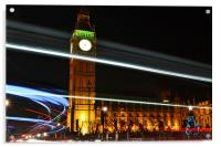 Westminster Lights, Acrylic Print