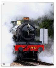 Out of the Steam, Acrylic Print