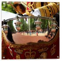 Drum Reflection, Acrylic Print