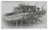 Ship Wreck, Acrylic Print