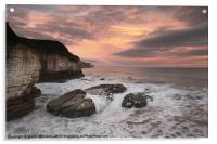 Thornwick Bay Sunrise 2, Acrylic Print