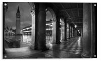 The Arches, St Marks Square, Venice, Acrylic Print