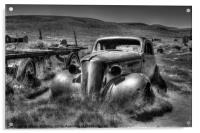 Bodie Ghost Town, Acrylic Print