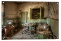 Tom Miller House - Bodie Ghost Town, Acrylic Print