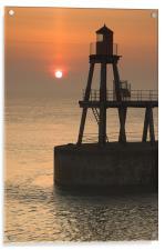 Whitby Sunrise, Acrylic Print