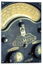Vintage Avometer, Acrylic Print