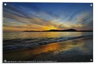 Sunset in Paradise, Acrylic Print