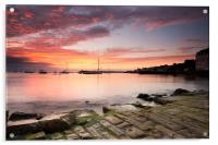 Swanage Sunrise, Acrylic Print