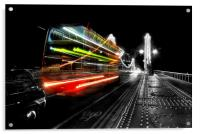 London Red Bus, Acrylic Print