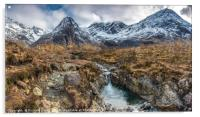 Looking up Coire na Creiche, Acrylic Print