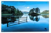 Serene Derwent Water, Acrylic Print