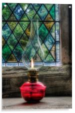Eternal Flame, Acrylic Print