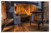 Olde Kitchen, Acrylic Print