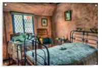 Victorian Bedroom , Acrylic Print