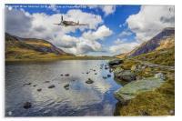 Spitfire Flight, Acrylic Print