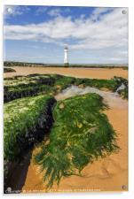 Perch Rock Lighthouse, Acrylic Print