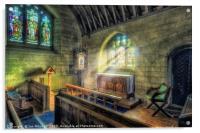 Hear My Prayer , Acrylic Print