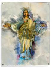 Presence of god, Acrylic Print