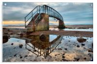 Bridge to nowhere , Acrylic Print