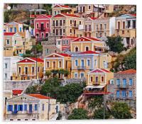 Symi island Greece II, Acrylic Print
