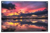 Bembridge Harbour, Acrylic Print