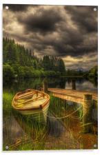 Loch Ard, Acrylic Print