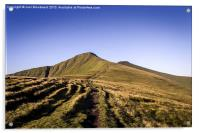 Pen Y Fan & Corn Du Brecon Beacons, Acrylic Print