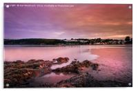 Saundersfoot Bay, Acrylic Print
