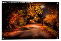 Autumn Nights, Acrylic Print