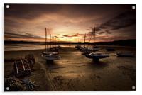 Beadnall Harbour, Acrylic Print