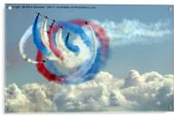 The Red Arrows, Acrylic Print