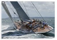 Ranger - J Class Yacht, Acrylic Print