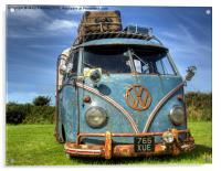 VW Campervan, Acrylic Print