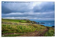 Lizard Point, Cornwall, Acrylic Print