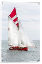 working boat, dredger, Acrylic Print