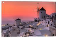 Santorini, Greece, Acrylic Print
