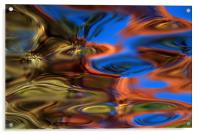 Lily Pond , Acrylic Print