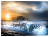 Solstice storm, Acrylic Print