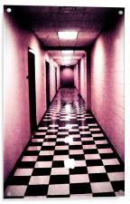 Corridor, Acrylic Print