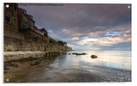Runswick Bay, Acrylic Print