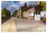 Egton Bridge Railway Station, Acrylic Print