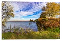 The Colours Of Autumn, Acrylic Print
