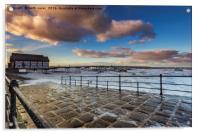 Saltburn Pier, Acrylic Print