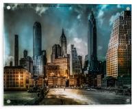 Old New York, Acrylic Print