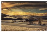 Winterscape, Acrylic Print