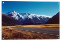 Mount Cook, South Island, New Zealand, Acrylic Print